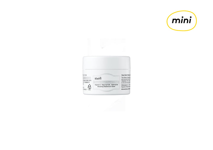 [MINI] KLAIRS Freshly Juiced Vitamin E Mask 15ml - skin library uk