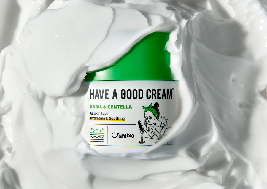 Hello skin Jumiso Have a Good Cream Snail & Centella 200g - Texture - Skin Library UK