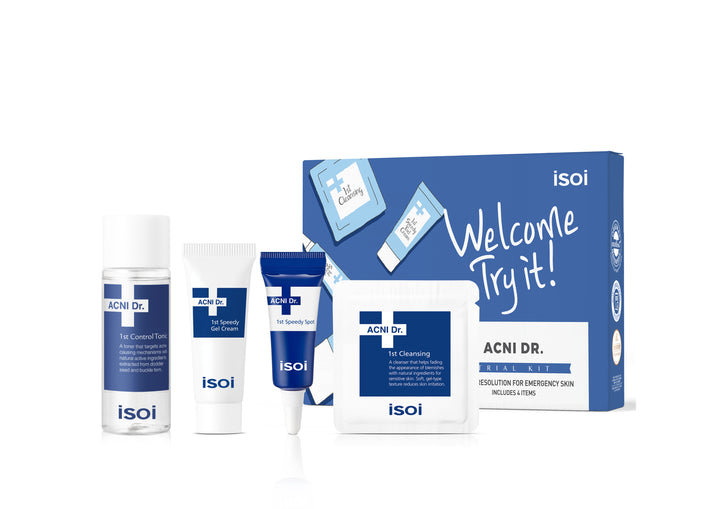 ISOI Acni Dr. Trial Kit - Skin Library UK