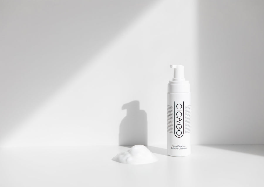 ISOI Cicago Cica Clearing Bubble Cleanser - foam cleanser - Skin Library UK