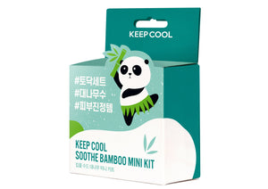 KEEP COOL Soothe Bamboo Mini Kit - skin library UK