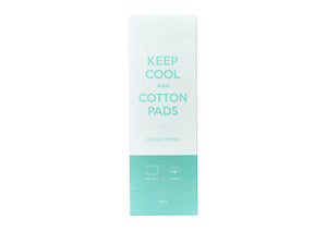 Keep Cool Mild Cotton Pads - Skin Library UK