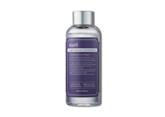 KLAIRS Supple Preparation Unscented Toner - skin library uk