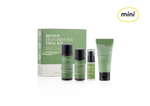 [MINI] BENTON Deep Green Tea Trial Kit | Korean Skincare | Skin Library UK