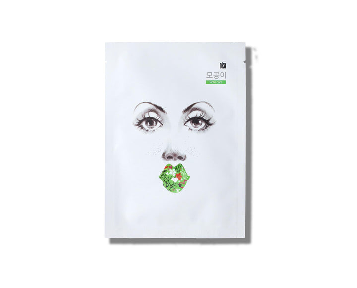 OKA Buckle Up The Pore Sheet Mask - Skin Library UK