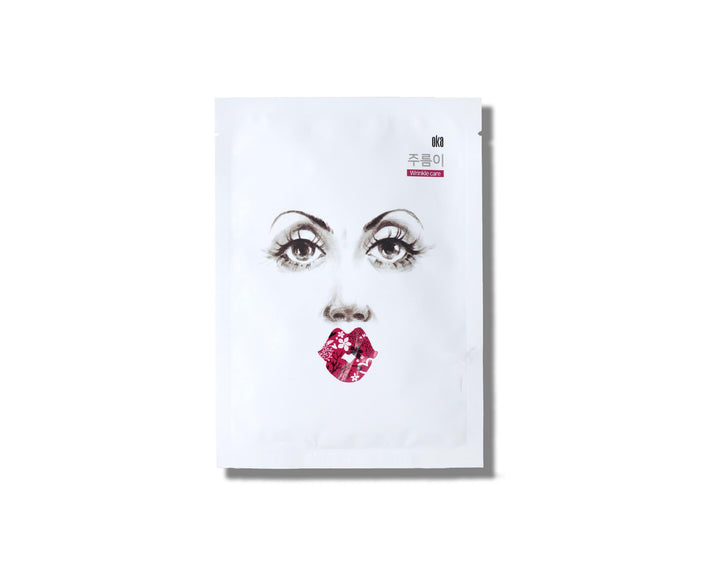 OKA Cheers to Anti-Wrinkle Sheet Mask - skin library UK