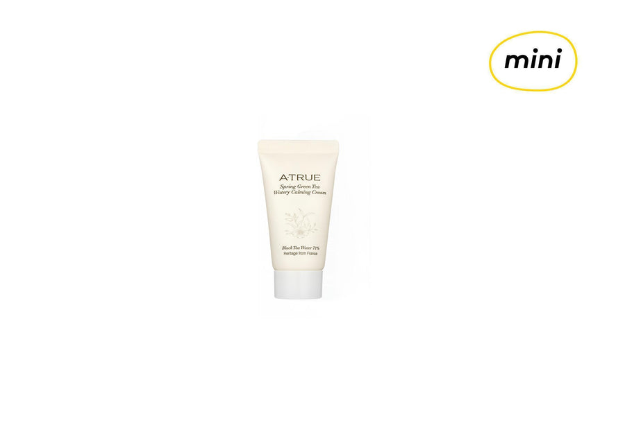 [MINI] ATRUE Spring Green Tea Watery Calm Cream 15g - skin library uk