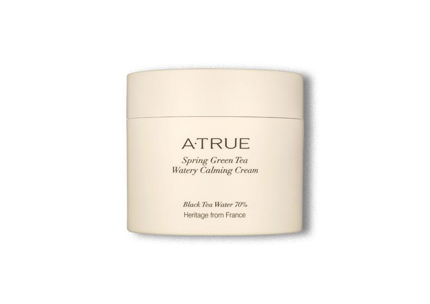 ATRUE Spring Green Tea Watery Calming Cream - Skin Library UK