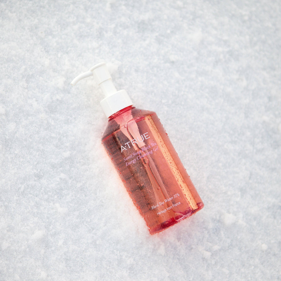ATRUE Sweet Song Black Tea Cleansing Gel - Deep Cleansing - Skin Library UK