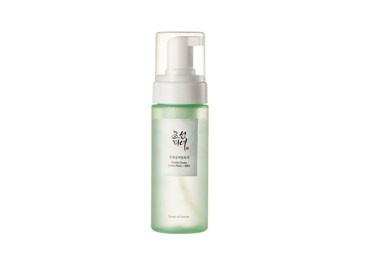 Beauty of Joseon bubble toner green plum AHA toner