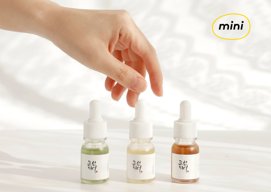 Beauty of joseon hanbang trio skincare