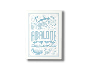 BLITHE Blue Marine Sheet Mask - Abalone - Box set -  Skin Library UK