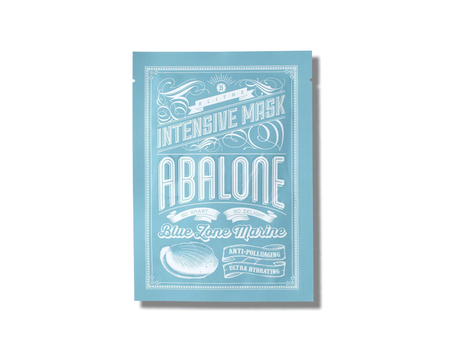 BLITHE Blue Marine Sheet Mask - Abalone - Skin Library UK