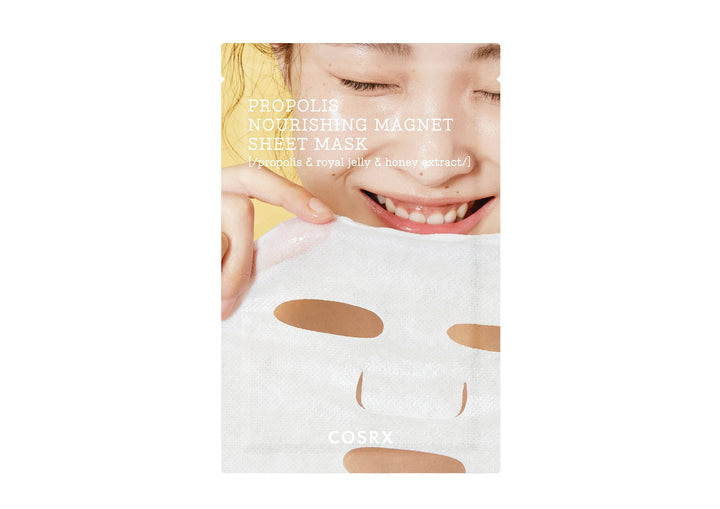 Cosrx Propolis Nourishing Magnet Sheet Mask 21ml - Skin Library UK