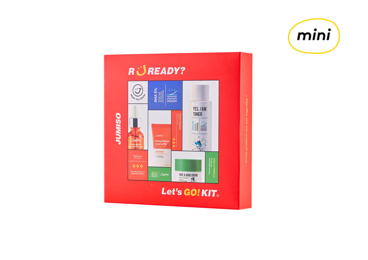 [MINI] JUMISO Let's Go Kit | Korean Skincare | Skin Library UK
