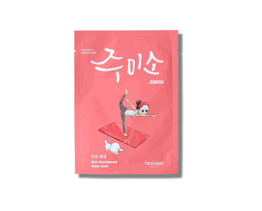 HELLO SKIN Jumiso Rich-Nourishment Mask - Skin Library UK
