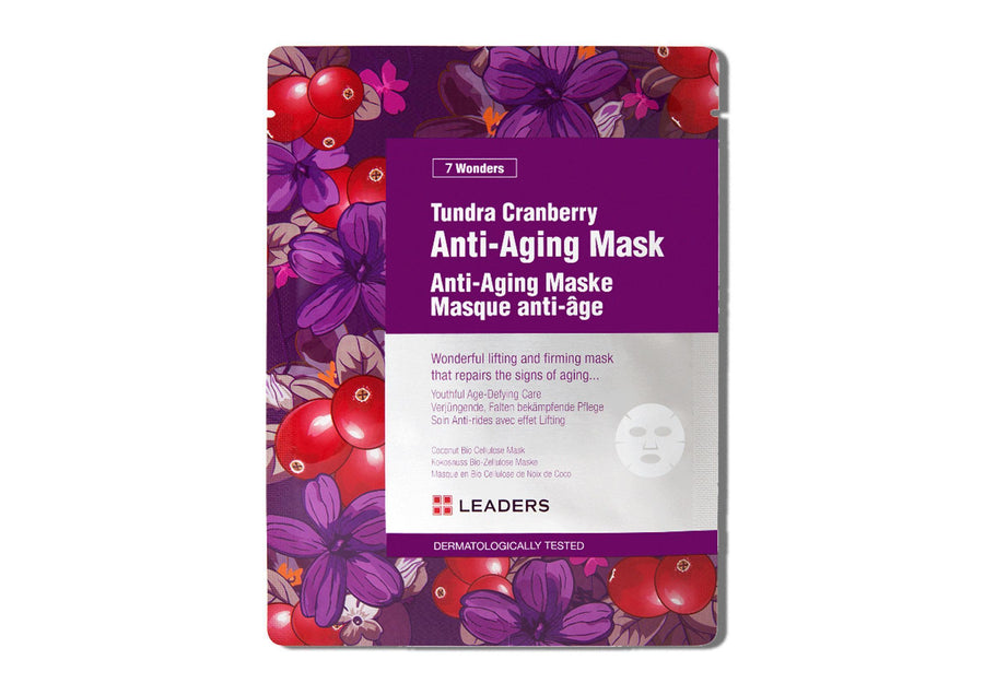 LEADERS 7 Wonders Tundra Cranberry Anti-Aging Mask - Skin Library UK