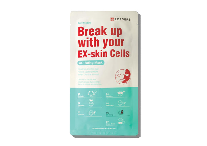 LEADERS Daily Wonders Break Up With Your Ex-Skin Cells Mask - Skin Library UK