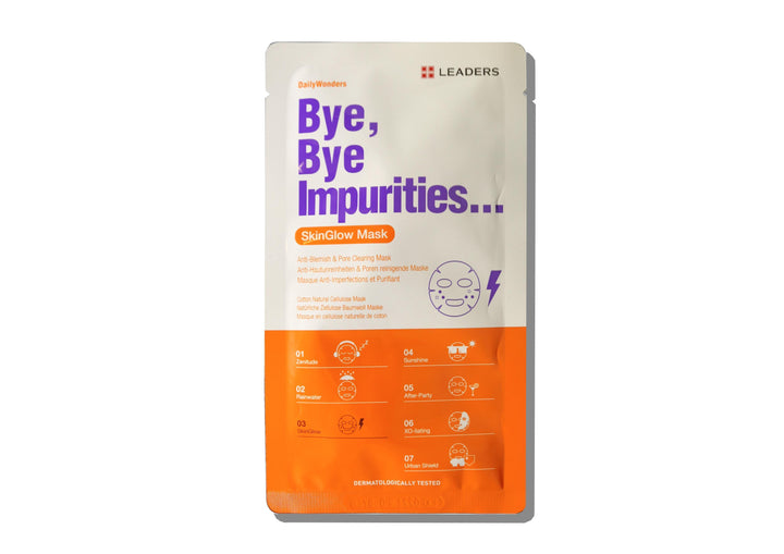 LEADERS Daily Wonders Bye, Bye Impurities Mask - Skin Library UK