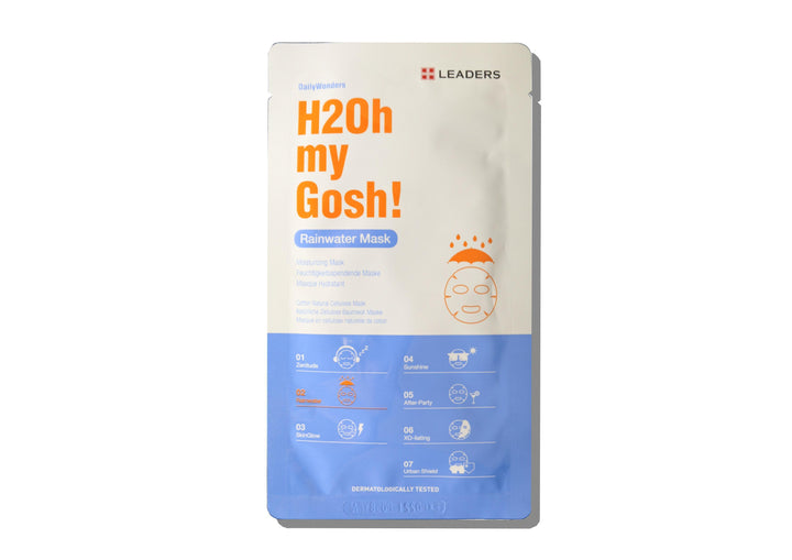 LEADERS Daily Wonders H2oh My Gosh Rainwater Mask - Skin Library UK