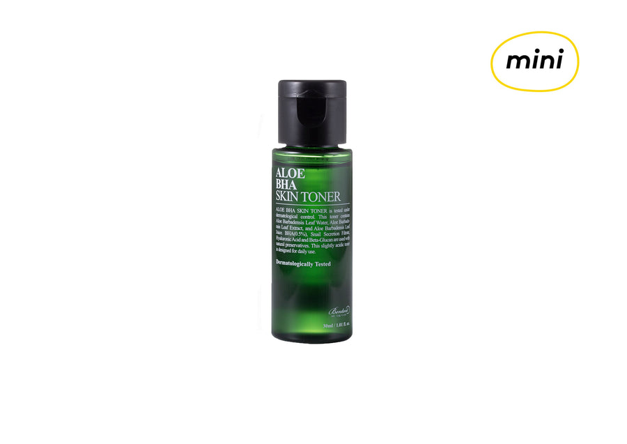 [MINI] BENTON Aloe BHA Skin Mini Toner 30ml - Skin Library UK