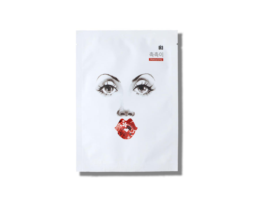OKA Boosting Moisture Up Sheet Mask - Skin Library UK