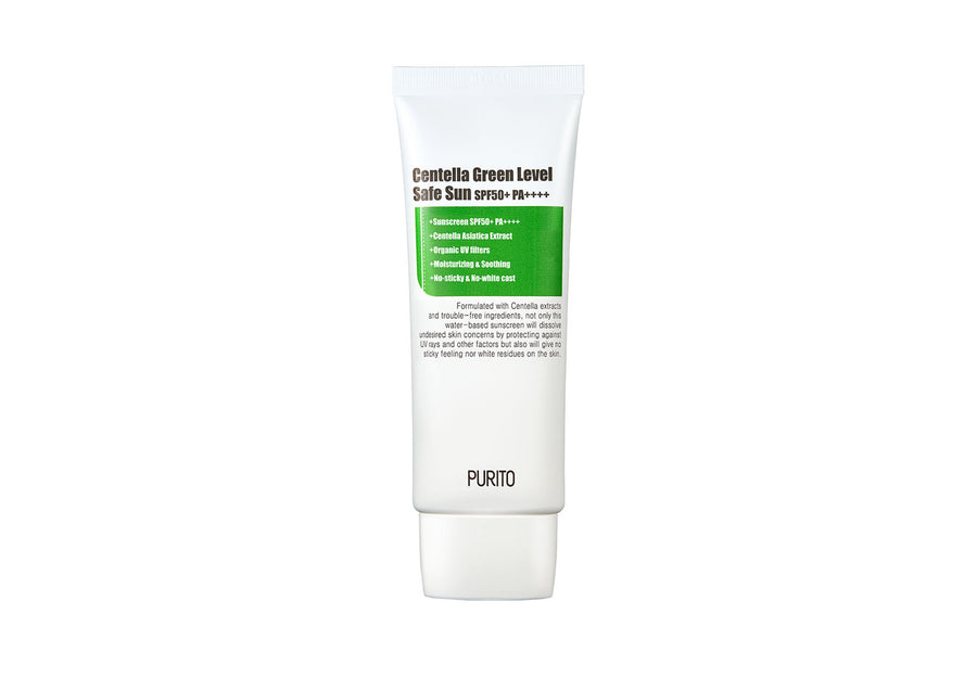 PURITO Centella Green Level Safe Sun SPF50+ PA++++ | Korean Skincare | Skin Library UK