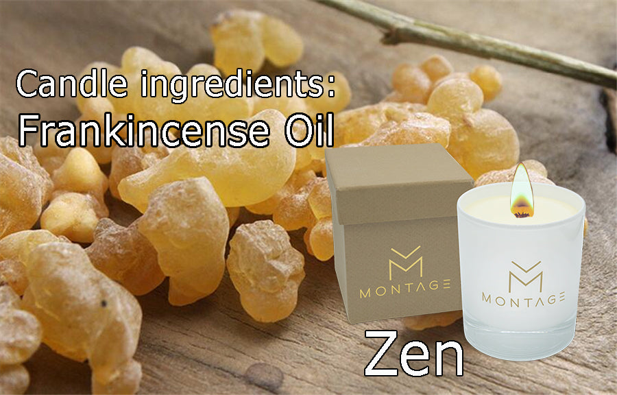 Candle ingredients: Frankincense Oil - Zen