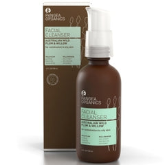 Pangea Organics | Australian Wild Plum & Willow Facial Cleanser for Combination to Oily Skin