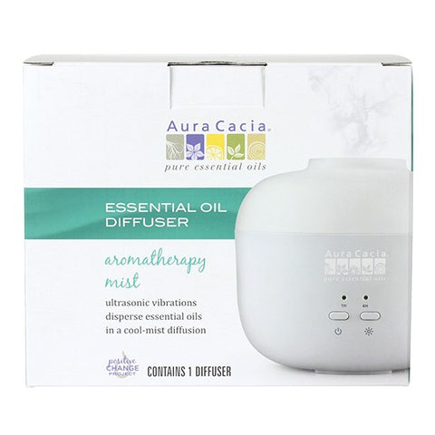 Aura Cacia Diffuser Ultrasonic Essential Oil Mist