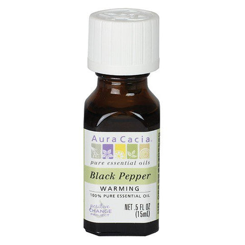 Aura Cacia Black Pepper Essential Oil
