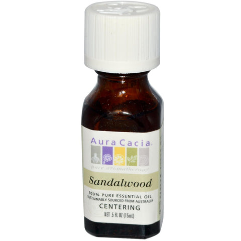 Aura Cacia Sandalwood Essential Oil