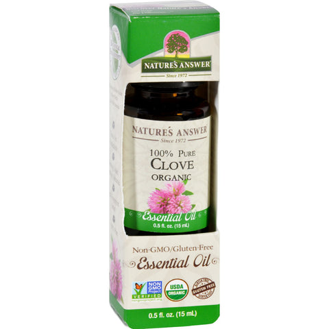 Natures Answer Essential Oil Organic Clove