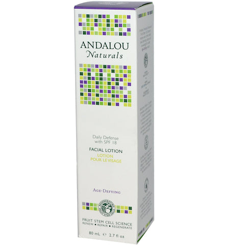 Andalou Naturals Daily Defense Facial Lotion w/ SPF 18
