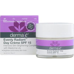 Derma E Evenly Radiant Day Cream Spf15
