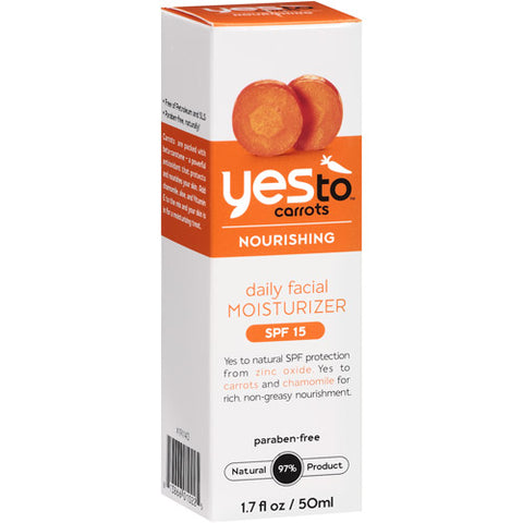Yes To Carrots, Daily Facial Moist SPF15