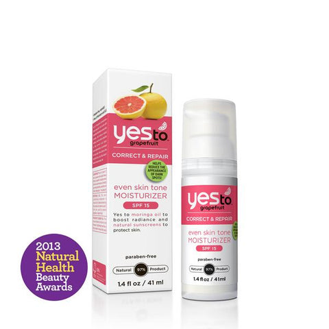 Yes To Grapefruit, Even Skin Tone Moist SPF15