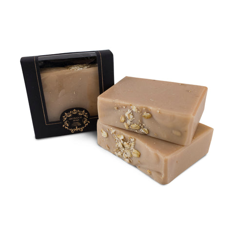 Handmade Artisan Soap | Honey Oats & Goat Milk Soap for Sensitive, Dry & Itchy Skin