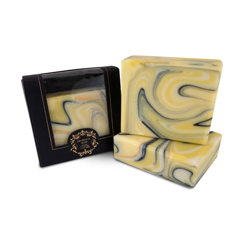 Handmade Artisan Soap | Golden Lemon Myrtle Soap