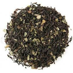 Chocolate Mint Black Tea. Luscious chocolate and refreshing peppermint. Taste like your favourite after dinner mint!