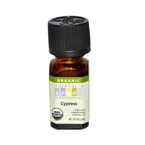 Aura Cacia Organic Essential Oil Cypress