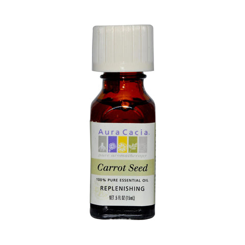 Aura Cacia Pure Essential Oil Carrot Seed