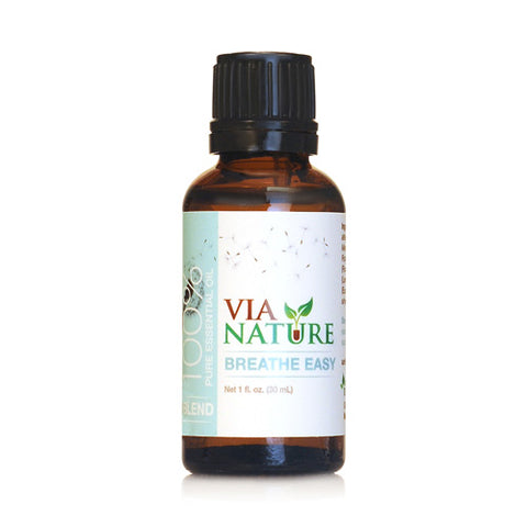 Via Nature Essential Oil Blend Breathe Easy