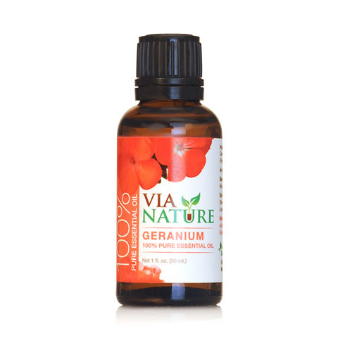Via Nature Essential Oil 100% Pure Geranium