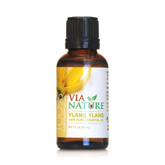 Via Nature Essential Oil 100% Pure Ylang Ylang