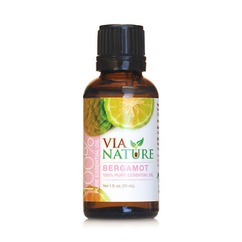 Via Nature Essential Oil 100% Pure Bergamot