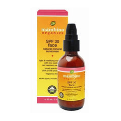 Mambino Organics Sunscreen Face Natural Mineral SPF 30