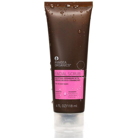 Pangea Organics | Egyptian Geranium with Adzuki Bean & Cranberry Facial Scrub