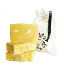 Handmade Artisan Soap | Golden Lemon Myrtle Soap with essential oil for hydration and detox, and anti bacterial