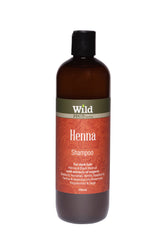 Wild PPC | Henna Hair Shampoo for Dark Hair, prevent dandruff, strengthen hair- 500ml